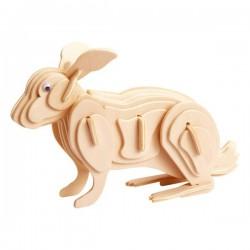 Łamigłówka drewniana Gepetto - Królik (Rabbit)