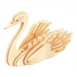 Łamigłówka drewniana Gepetto - Łabędź (Swan)