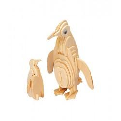 Łamigłówka drewniana Gepetto - Wiewiórka (Squirrel)