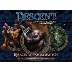Descent: Krucjata Zapomnianych - zestaw bohaterów i potworów
