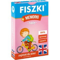 Angielski Fiszki plus Gra Memorki - Hobby