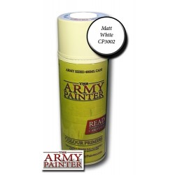 Army Painter -PRIMER BASE MATT WHITE (spray)