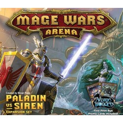 Mage Wars Arena - Paladin vs Siren