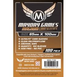 MAYDAY Koszulki Magnum Copper (65x100mm) 100 Clear Przezroczyste