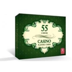 Cassino 2x55 karty do gry