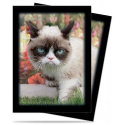 KOSZULKI NA KARTY Grumpy Cat Flowers (50 szt.) [5E-84445]