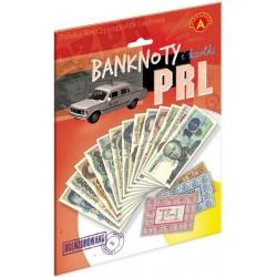 Banknoty i kartki PRL