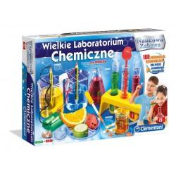 Naukowa Zabawa: Wielkie Labolatorium Chemiczne (Clementoni)