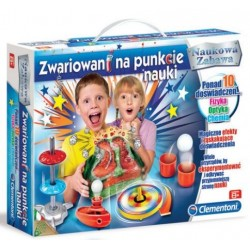 Naukowa Zabawa: Zwariowani na punkcie nauki (Clementoni)