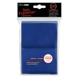 Deck Protector Solid Blue/Niebieskie 100 (66x91mm) standard