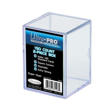Pudełko akrylowe Ultra-Pro na 150 kart 2-cześciowe