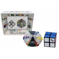 Zestaw Kostka Rubika 2x2x2 plus Układanka UFO