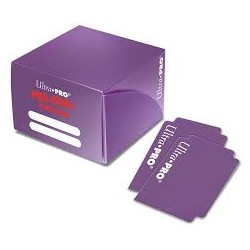 Pudełko na karty Deck Box 180+ PRO DUAL PURPLE/FIOLETOWE