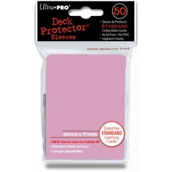 Deck Protector - Solid Pink 50 (66x91mm) standard