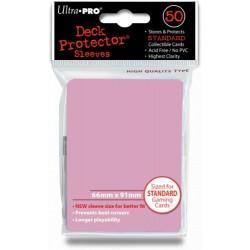 Deck Protector Solid Pink/Różowy 50 (66x91mm) standard