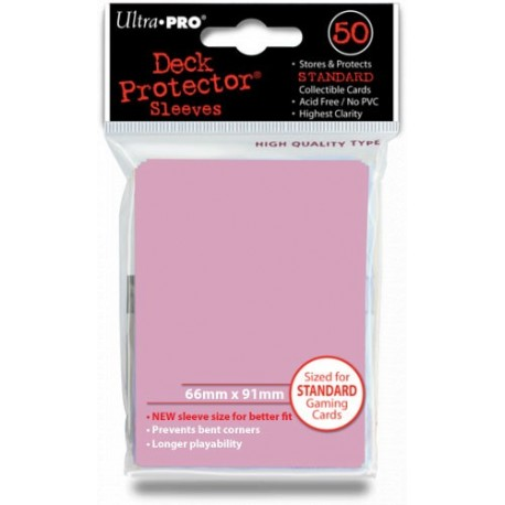 Deck Protector - Solid Pink 50