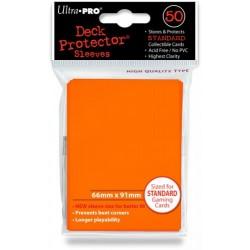 Deck Protector Solid Orange/Pomarańczowy 50 (66x91mm) standard