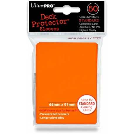 Deck Protector - Solid Orange 50