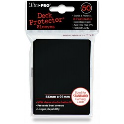 Deck Protector - Solid Black 50 (66x91mm) standard