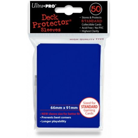 Deck Protector - Solid Blue 50