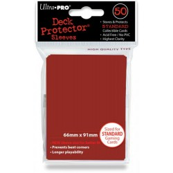 Deck Protector - Solid Red 50