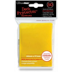 Deck Protector Solid Yellow/Żółty 50 (66x91mm) standard