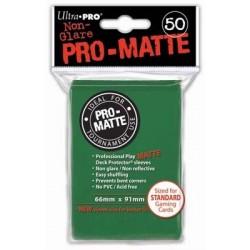 Deck Protector Pro-Matte Green/Zielony 50 (66x91mm) standard