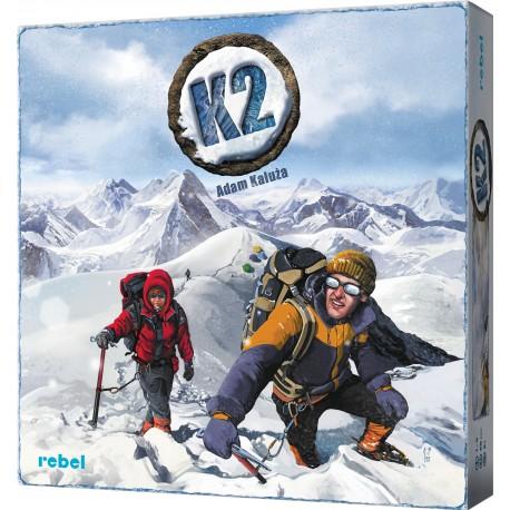 K2 gra planszowa (nowa edycja)