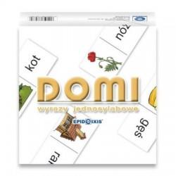 DOMI - wyrazy jednosylabowe EPIDEIXIS