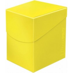 Ultra Pro 100+ Lemon Yellow/Żółte Limonka Deck Box