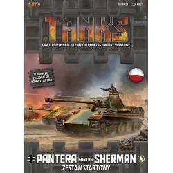 Tanks: Pantera kontra Sherman Zestaw STARTOWY