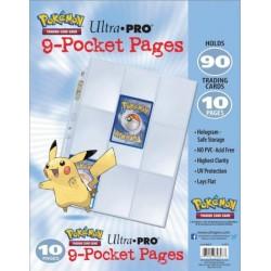 POKEMON: Wkładki/strony do segregator na karty Ultra Pro POKEMON