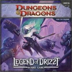 D&D: The Legend of Drizzt Board Game