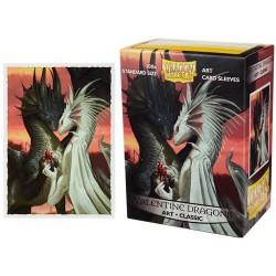 Dragon Shield Standard Art Sleeves - Valentine Dragons (100 Sleeves)