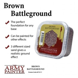 ARMY PAINTER - BASING BROWN BATTLEGROUND