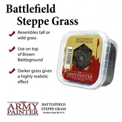 ARMY PAINTER - BASING STEPPE GRASS STATIC 2019