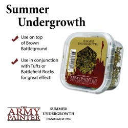 ARMY PAINTER - BASING SUMMER UNDERGROWTH 2019