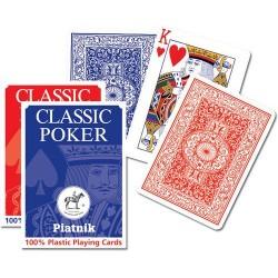 Karty do gry Poker Plastik 1 talia PIATNIK