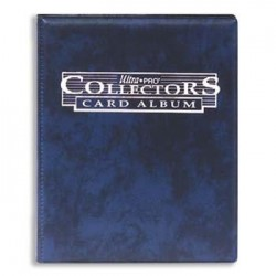 Collectors Card Album 10x4 Blue