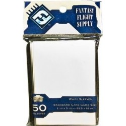 Standard Card Game Sleeves White FFG