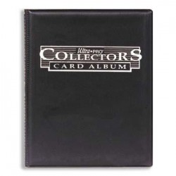 Collectors Card Album 10x9 black
