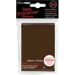 Deck Protector - Solid Brown 50 (66x91mm) standard