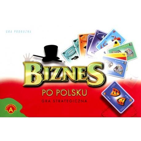 Biznes po polsku (karty - gra strategiczna)