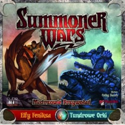 Summoner Wars - Elfy Feniksa vs Tundrowe Orki