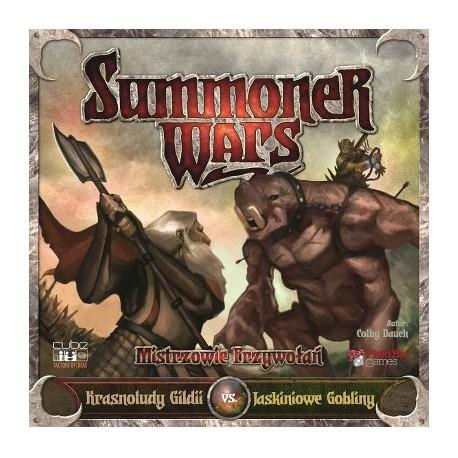 Summoner Wars - Krasnoludy Gildii vs Jaskiniowe Gobliny