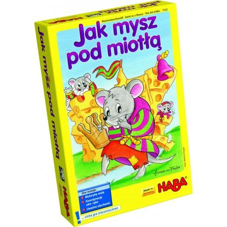 Jak mysz pod miotłą