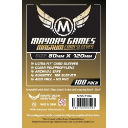 MAYDAY Koszulki Magnum Gold (80x120mm) 100 do Dixit