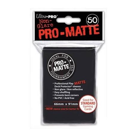 Deck Protector - Pro-Matte Non-Glare Black 50 (66x91mm) standard