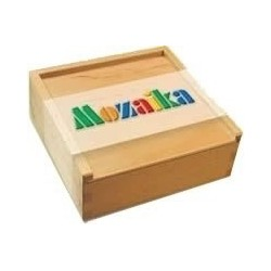 MOZAIKA w drewnianym pudełku
