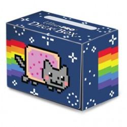 Plastikowe pudełko na karty Deck Box Nyan Cat ninja